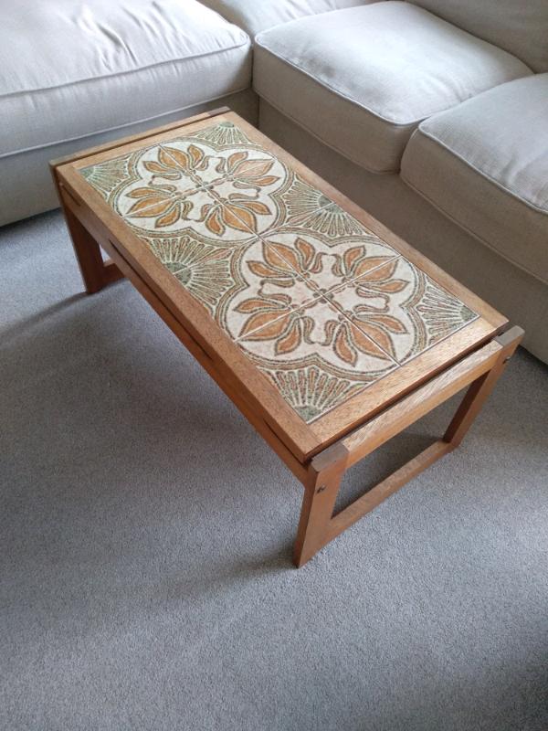 G Plan tiled teak coffee table midcentury retro | in ...