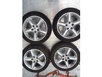 Vauxhall Astra H Alloy wheels tyres