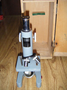 Vintage microscope for sale