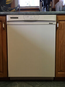 Built in Kenmore Elite dishwasher