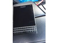 Blackberry passport unlocked mint condition no scratch