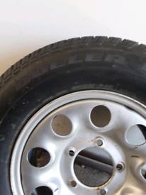 Suzuki Vitara/ Jimny Tyre and wheel.