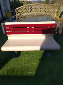 """Extremely Rare Retro """"Diner Bench"""""""