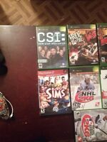 Xbox and ps2 games