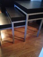 3 IKEA coffee tables only $25