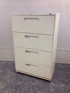"""File cabinet Global 9300 36""""w- 4 drawer $400"""