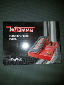 Whammy guitar pedal