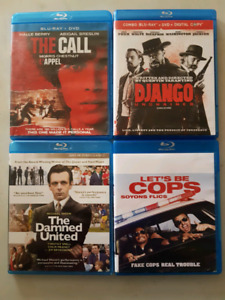 Bluray - Lets Be Cops, The Call, Django, and the Damned United