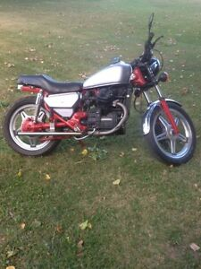 Honda Cx 500c street bike