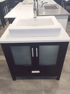 "Clearance DEMO Marked-Down SALE – 32"" Bathroom Vanity BB32 $880"