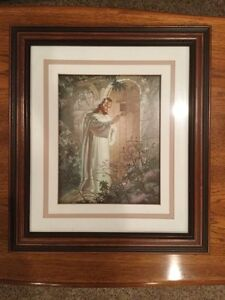 Picture of Jesus in a Frame