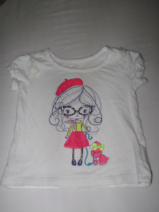 Adorable top for a baby girl 9-12 mo