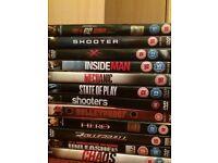 Action DVD bundle
