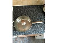 ROYALTY LINE LARGE STAINLESS SAUCEPAN