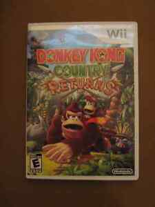 Donkey Kong wii games