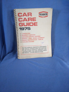 1975 car guide book