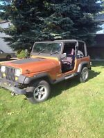 1988 Jeep YJ $3600.00 as is