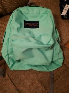 Jansport Green Backpack