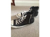 Converse All Star High Top Boots size 5