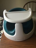 """Mamas and Papas """"Bumbo"""" style chair and tray"""