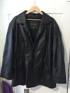 Danier Leather coat (mens xl)