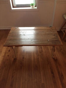 Hand Made Rustic Coffee Table