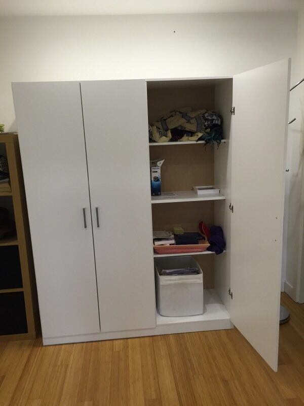 IKEA Dombas wardrobe | in Old Town, Edinburgh | Gumtree
