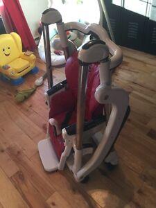 Chaise haute bébé Peg Perego Rocky négociable