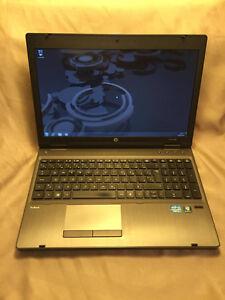 Ordinateur portable HP PROBOOK i5 8 gigs ram 500 hd PAS CHER!!
