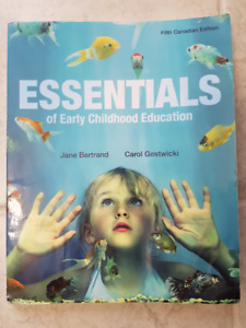 Essentials of Early Childhood Education. 5th Edition.