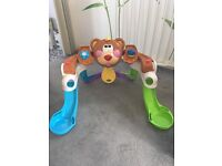Teddy Bear Fisher Price Music Helping Standing Station