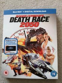 Death race 2050 film. Blu-ray disc