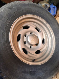 Chevy 1/2 ton Truck Rims with wheels
