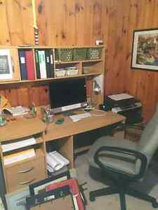 Great Office Desk, chair and Oak Dresser!