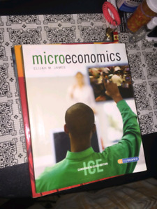 Microeconomics textbooks 3 for $25