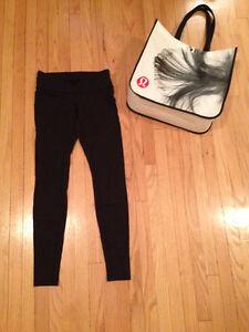 LULULEMON - Size 8 - Black Leggings