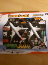 Brand new airport set sealed
