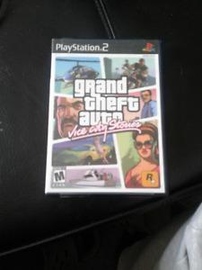 JEUX PS2 ET PS3 À Vendre