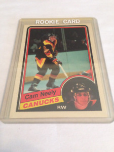 84/85 OPC Cam Neely Rookie #327 Near Mint Condition