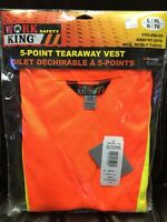 Work King Safety 5 Point Tearaway Vest