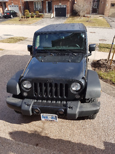2016 Jeep Wrangler (Unlimited) Willys Wheeler SUV, Crossover