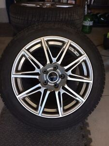 Michelin X-ice3 245/45 18 with wheels and TPMS - Acura TL