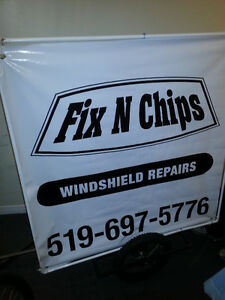 FIX  N  CHIPS  Windshield Repair