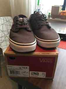 Vans Atwood Shoes Brown Size 10.5