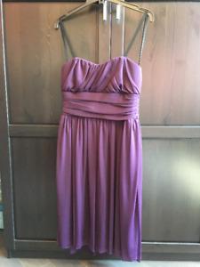 Women's Dark Purple Jolie Dress, Size 8