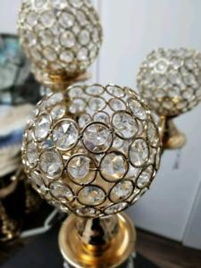 Elegant Gold Center Pieces