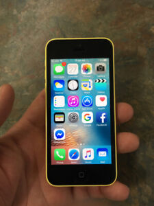 IPhone 5c. Yellow colour. 8GB. Unlocked. Excellent condition
