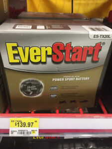 EverStart power sports battery,Brand new never open or used!
