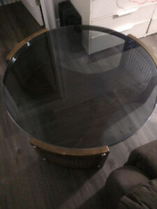 Round Coffee Table-----and TV stand $40.