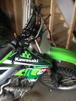 2007 KXF 450 DIRT BIKE FOR SALE